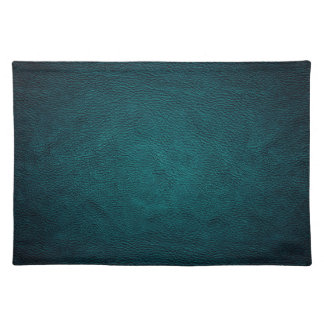 Classy chic elegant leather look placemat