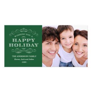 CLASSY CHRISTMAS HOLIDAY PHOTO CARD