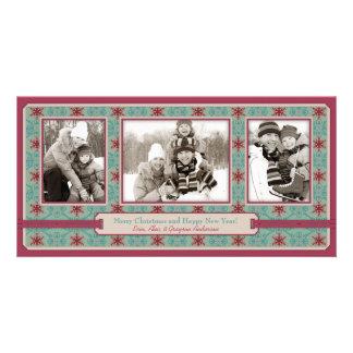 Classy Christmas Photo Card Trio