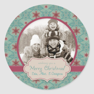 Classy Christmas Photo Sticker 2