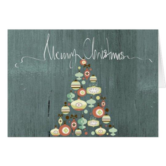 Classy Christmas Tree Card