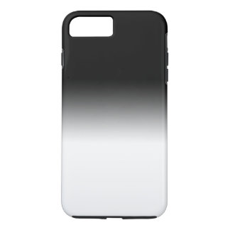 Classy COOL Gradient Black and White iPhone 8 Plus/7 Plus Case