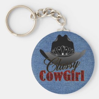 Classy Cowgirl Rodeo Queen Keychain (MRK-Revised)