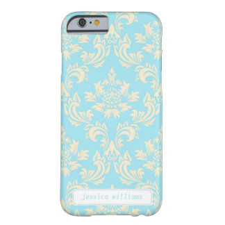 Classy Damask (Today's Best Award) Barely There iPhone 6 Case