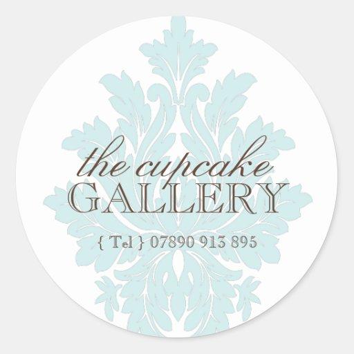 Classy Decorative Bakery Stickers