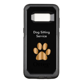 Classy Dog Sitter Theme OtterBox Commuter Samsung Galaxy S8 Case