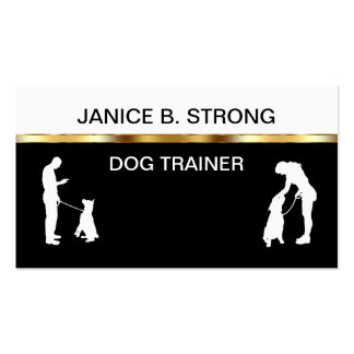 Classy Dog Training Business Cards