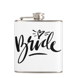 Classy drink flask gift idea for wedding bride