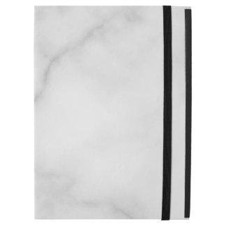 "Classy Elegant White Marble Pattern iPad Pro 12.9"" Case"