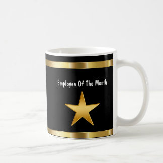Classy Employee Of The Month Basic White Mug