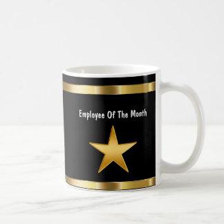 Classy Employee Of The Month Basic White Mug