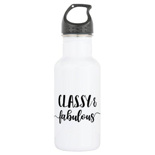 Classy & Fabulous 532 Ml Water Bottle