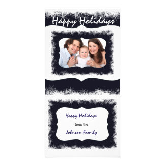 Classy Family Christmas Potocard Your Photo Personalised Photo Card