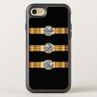 Classy Faux Jewel OtterBox Symmetry iPhone 8/7 Case