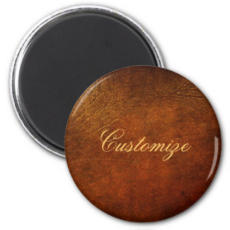 Classy Genuine Leather Designer Fridge Magnet