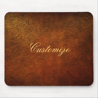 Classy Genuine Leather Designer Mouse Pad