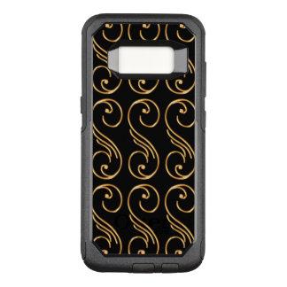 Classy Gold Design Pattern OtterBox Commuter Samsung Galaxy S8 Case