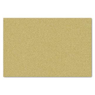 Classy Gold Glitter Tissue Paper