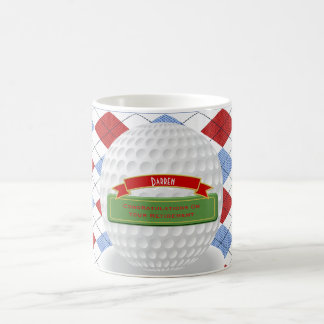 Classy Golfer Golf Retirement Mug Personalized
