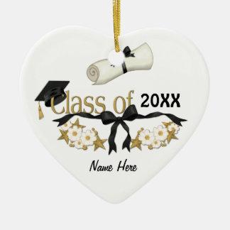 Classy Graduate 2015 Ceramic Heart Decoration