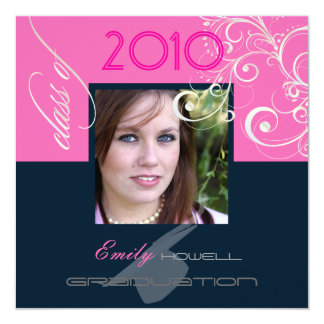 Classy Graduation 2010/Cap/Swirls Card