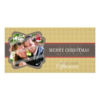 CLASSY HOLIDAY PHOTOCARD :: decorativeband 4 Photo Card