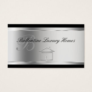 Classy Home Builder Business Cards