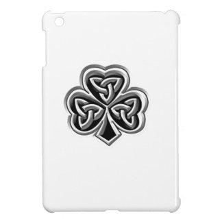 Classy Irish lucky shamrock personalized iPad Mini Case