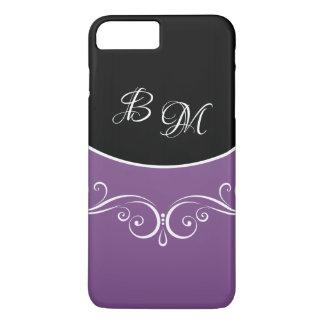 Classy Ladies Floral Monogram iPhone 8 Plus/7 Plus Case
