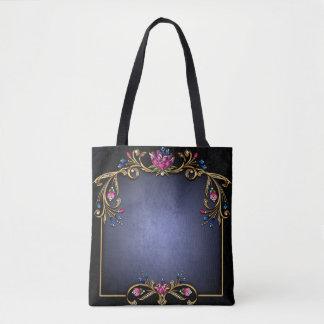 Classy Lady All-Over-Print Tote Bag, Medium