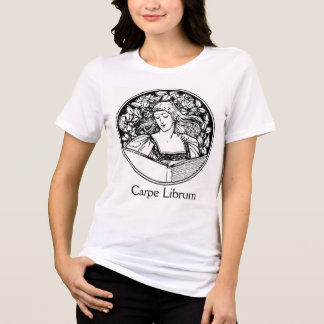 Classy lady reading book. T-Shirt