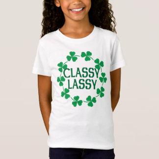 Classy Lassy Shamrocks Tshirt