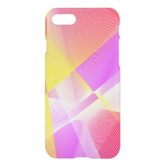 Classy Linear Pattern in Bright Colors iPhone 8/7 Case