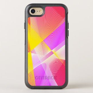 Classy Linear Pattern in Bright Colors OtterBox Symmetry iPhone 8/7 Case