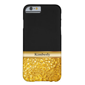 Classy Luxury Gold Look Barely There iPhone 6 Case