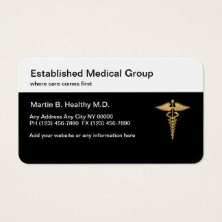 Classy Medical Group Businesscards Business Card