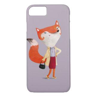 Classy Mod Fox Girl iPhone 7 Case