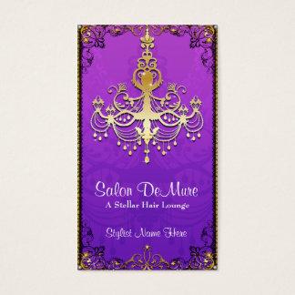 Classy Modern Sophisticated Designer Salon Business Card