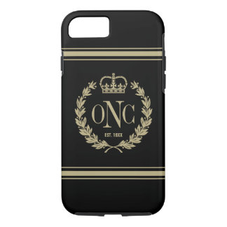 Classy Monogrammed Logo Tough iPhone 7 Case