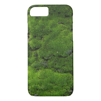 Classy Moss Green Texture iPhone 7 Case