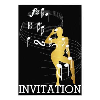Classy Musical Dance Cabaret Vip Invitation
