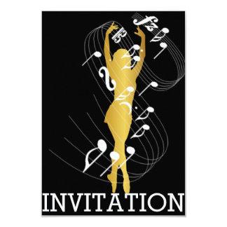 Classy Musical Dance Festival Vip Invitation