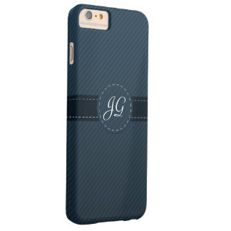 Classy Navy Blue Custom Monogram - iPhone 6 Case