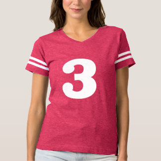 Classy Number 3 T-Shirt
