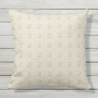 Classy-Outdoor-Indoor-Beige-Floral-Pillow-Set Cushion