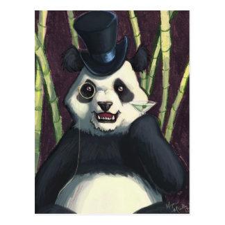 Classy Panda Postcard