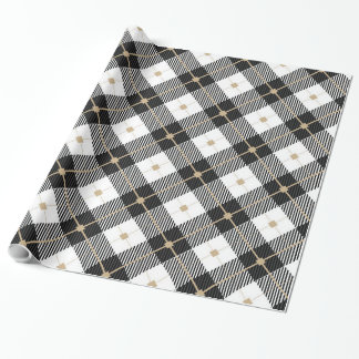 Classy Plaid Wrapping Paper