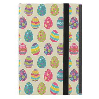 Classy Retro Easter Eggs Happy Easter Day iPad Mini Covers