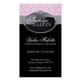 Classy Salon and Spa Business Cards
