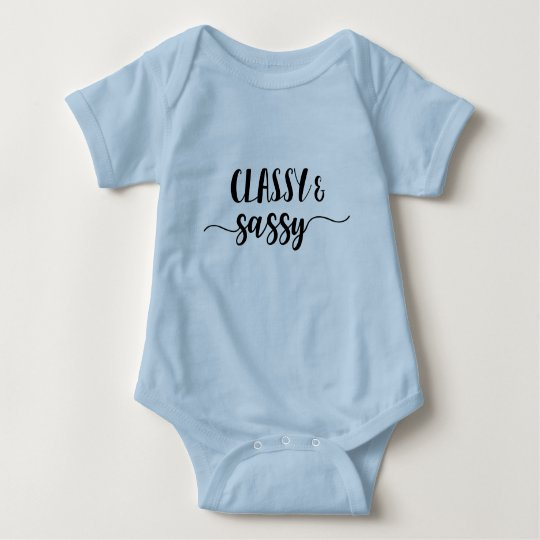 Classy & Sassy Baby Bodysuit